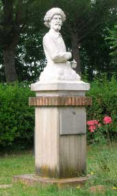 Statue dedicated to Ludovico Cardi said Cigoli